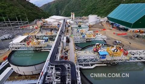 紫金矿业哥伦比亚金矿生产全流程打通 拉开年产8吨黄金序幕