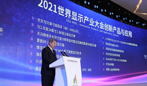 2021世界显示产业大会创新产品与应用发布